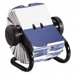 For more historical context, the Rolodex was used by business professionals in the office to maintain hoe organization in an easy access, alphabetical order styling.